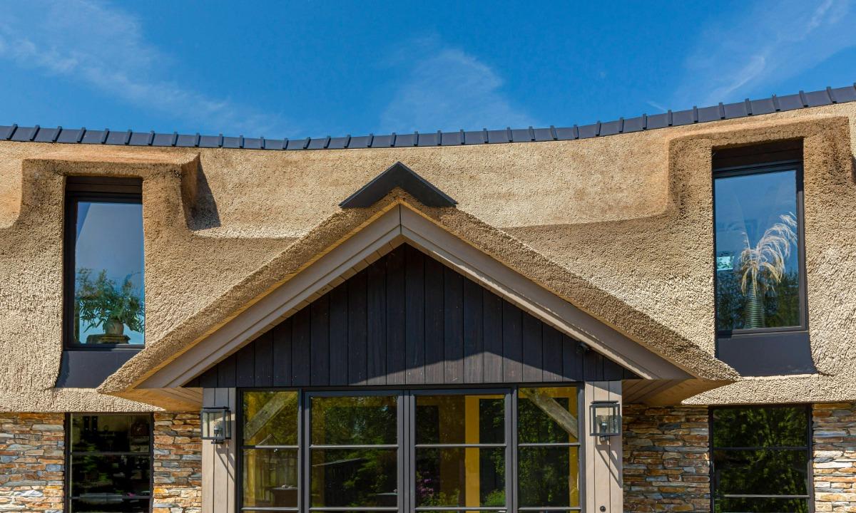 Uniek kunstriek dak